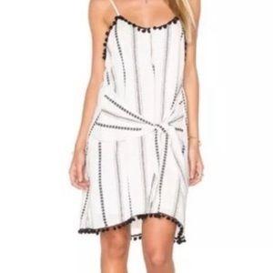 Tularosa Front Tie Pom Pom Dress
